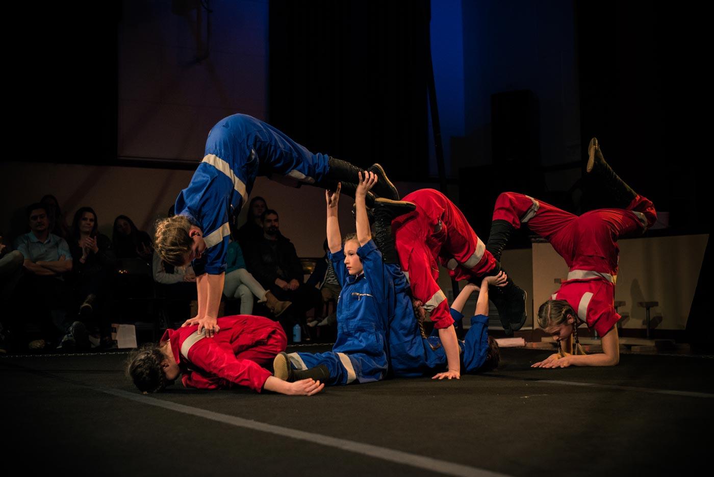Aeraflux Eos Acrobatics Performance